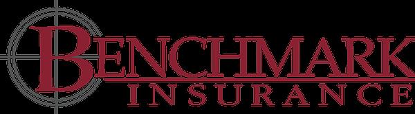 Benchmark-logo 2 Color PMS202+Gray